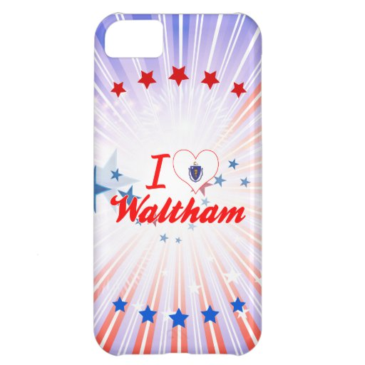 I Love Waltham, Massachusetts Case For iPhone 5C