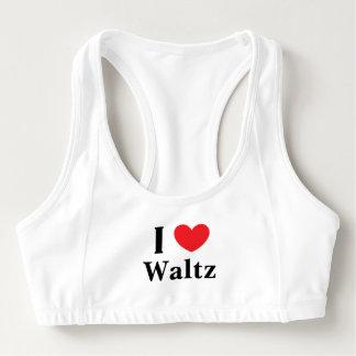 """""""I Love Waltz"""" Alo Sports Bra"""