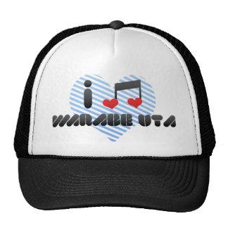 I Love Warabe Uta Mesh Hat