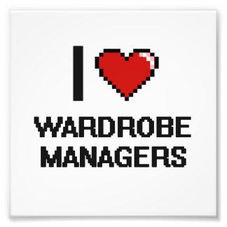 I love Wardrobe Managers Photo Art