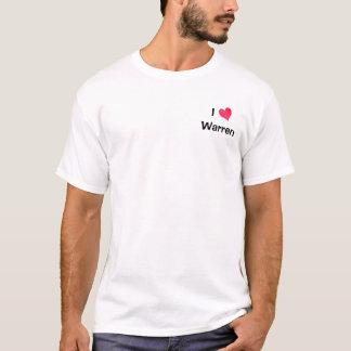I Love Warren T-Shirt