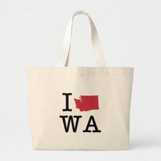 I Love Washington Bag