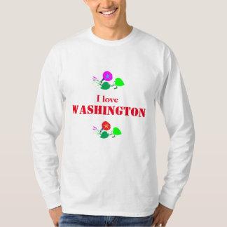 I love WASHINGTON D C America USA T-shirt