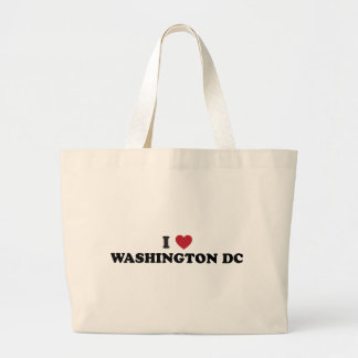 I Love Washington DC Jumbo Tote Bag
