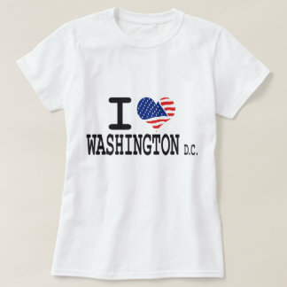 I love Washington dc T Shirts
