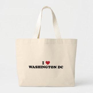 I Love Washington DC Canvas Bag
