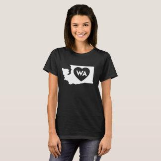 I Love Washington State Women's Basic T-Shirt