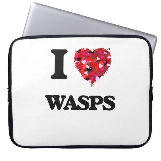 I love Wasps Computer Sleeves