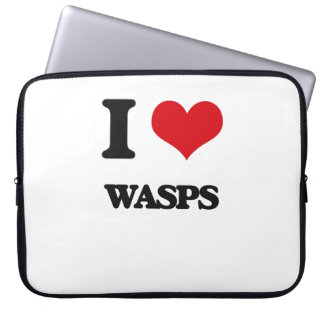 I love Wasps Laptop Sleeves