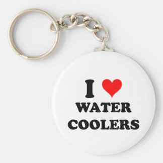 I Love Water Coolers Key Ring