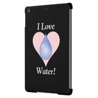 I Love Water! iPad Air Covers