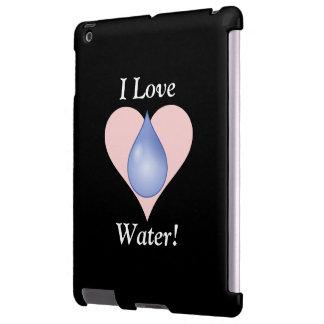 I Love Water! iPad Case