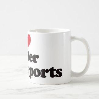 I Love Water Motorsports Coffee Mugs