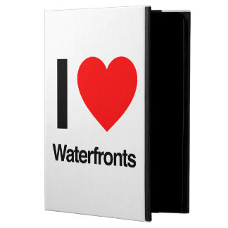 i love waterfronts iPad air covers