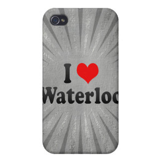 I Love Waterloo, Canada iPhone 4 Cases