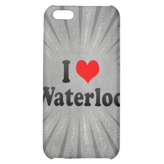 I Love Waterloo, Canada iPhone 5C Cases