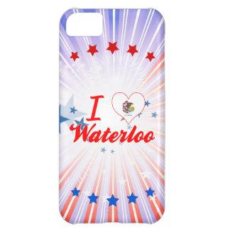I Love Waterloo, Illinois Case For iPhone 5C