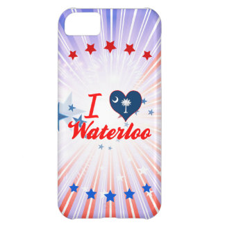 I Love Waterloo, South Carolina Cover For iPhone 5C