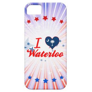 I Love Waterloo, South Carolina iPhone 5 Case