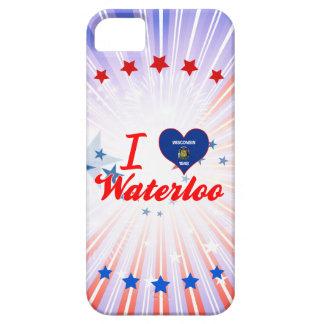I Love Waterloo, Wisconsin iPhone 5 Covers