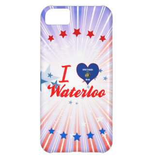I Love Waterloo, Wisconsin iPhone 5C Covers
