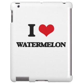 I love Watermelon iPad Case