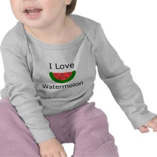 I Love Watermelon T Shirt