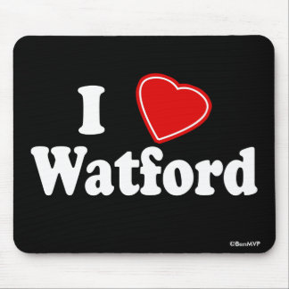 I Love Watford Mouse Mat