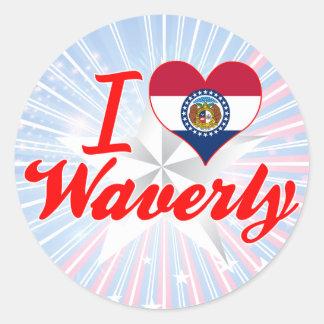 I Love Waverly, Missouri Sticker