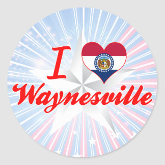 I Love Waynesville Missouri Sticker