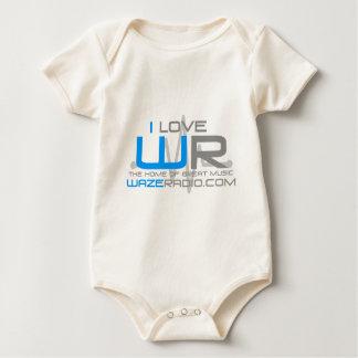 I love WazeRadio Baby Bodysuit