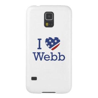 I Love Webb Galaxy S5 Cover