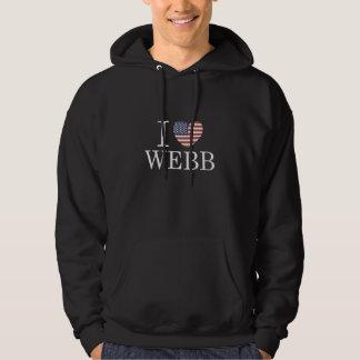 I Love Webb Hoodies
