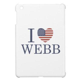 I Love Webb iPad Mini Cases