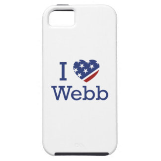 I Love Webb iPhone 5 Cover