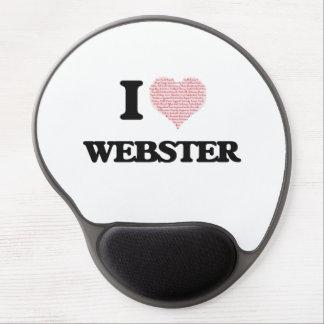 I Love Webster Gel Mouse Pad