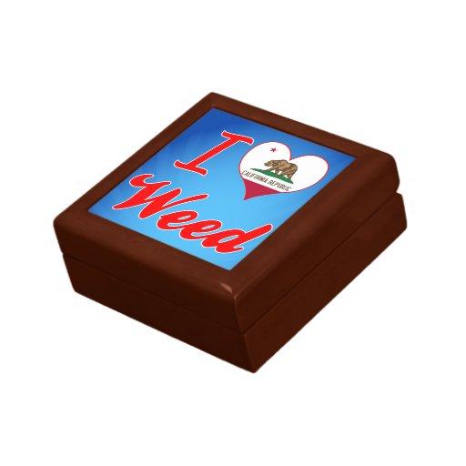 I Love Weed, California Gift Box