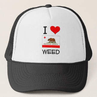 I Love WEED California Trucker Hat