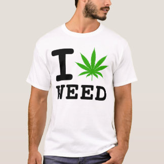 I LOVE WEED T-Shirt