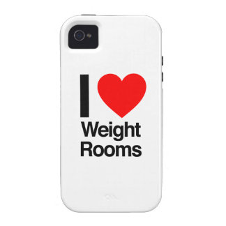 i love weight rooms iPhone 4/4S covers