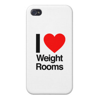 i love weight rooms iPhone 4/4S cases