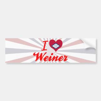 I Love Weiner, Arkansas Bumper Stickers