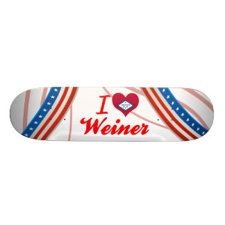 I Love Weiner, Arkansas Skate Decks