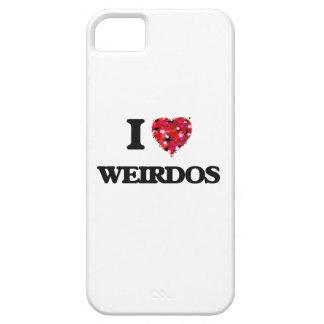 I love Weirdos iPhone 5 Cover