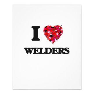 I love Welders 11.5 Cm X 14 Cm Flyer