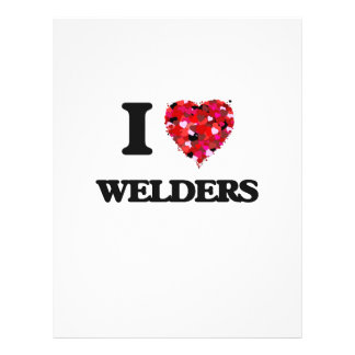 I love Welders 21.5 Cm X 28 Cm Flyer