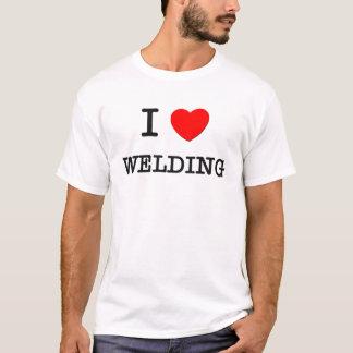 I Love WELDING T-Shirt