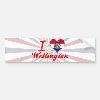I Love Wellington, Missouri Bumper Sticker