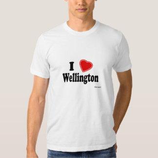 I Love Wellington Shirts