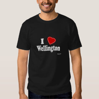 I Love Wellington T-shirts